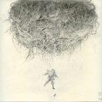 Adrian Johnston, Pencil on Paper, Rootball